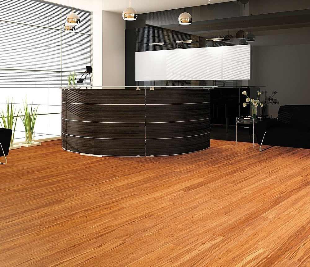 Home Office Engineered Wood Flooring Ideas