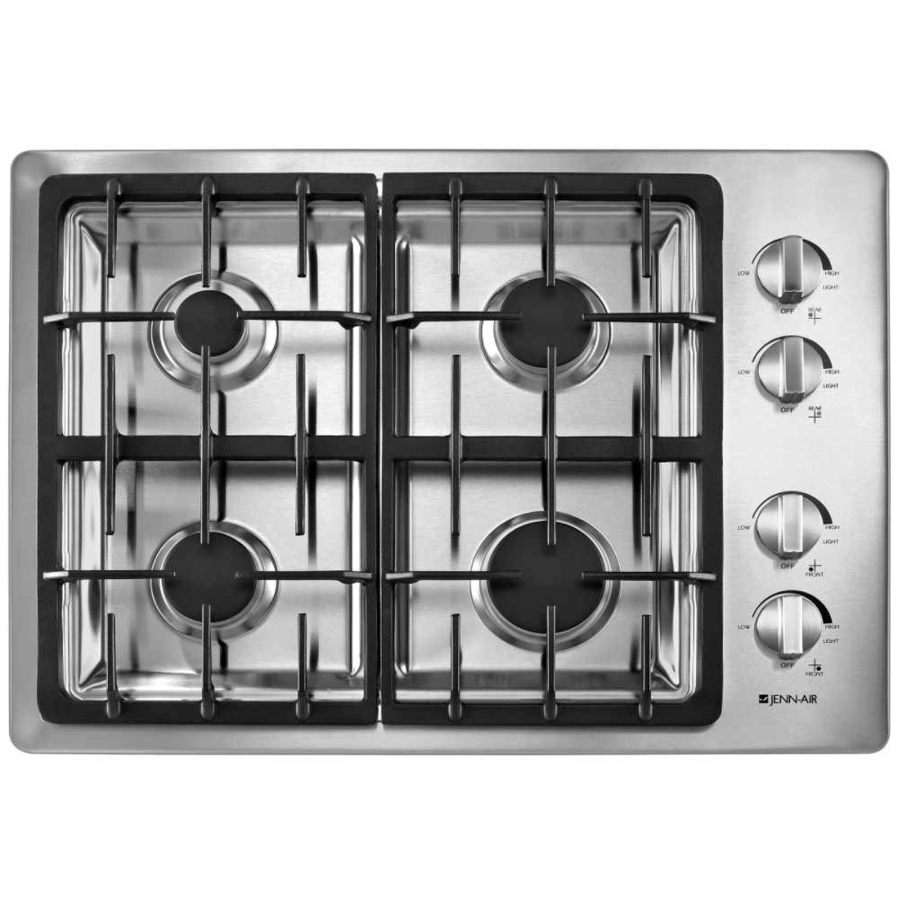 Jenn-air high efficiency gas cooktop appliance