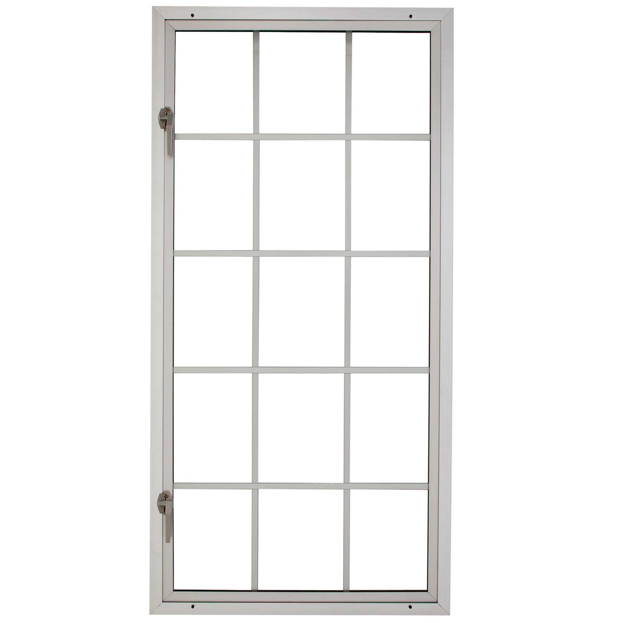 Milgard contemporary aluminum windows for open casement