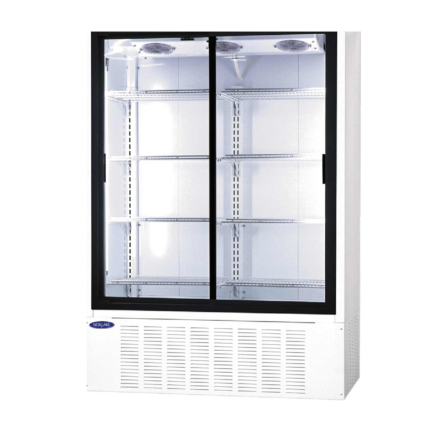 NorLake Bar Beverage Coolers with Double Glass Door