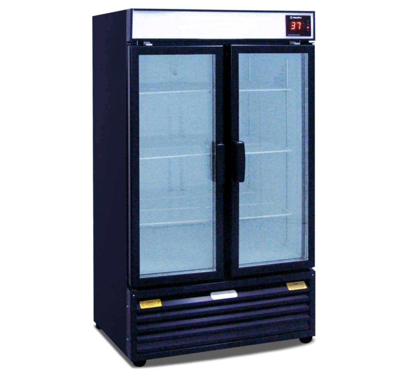 Prima beverage refrigerator glass door for home