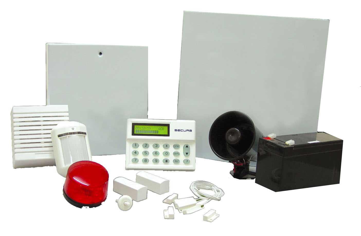 Secura Modern Home Alarm System Kits