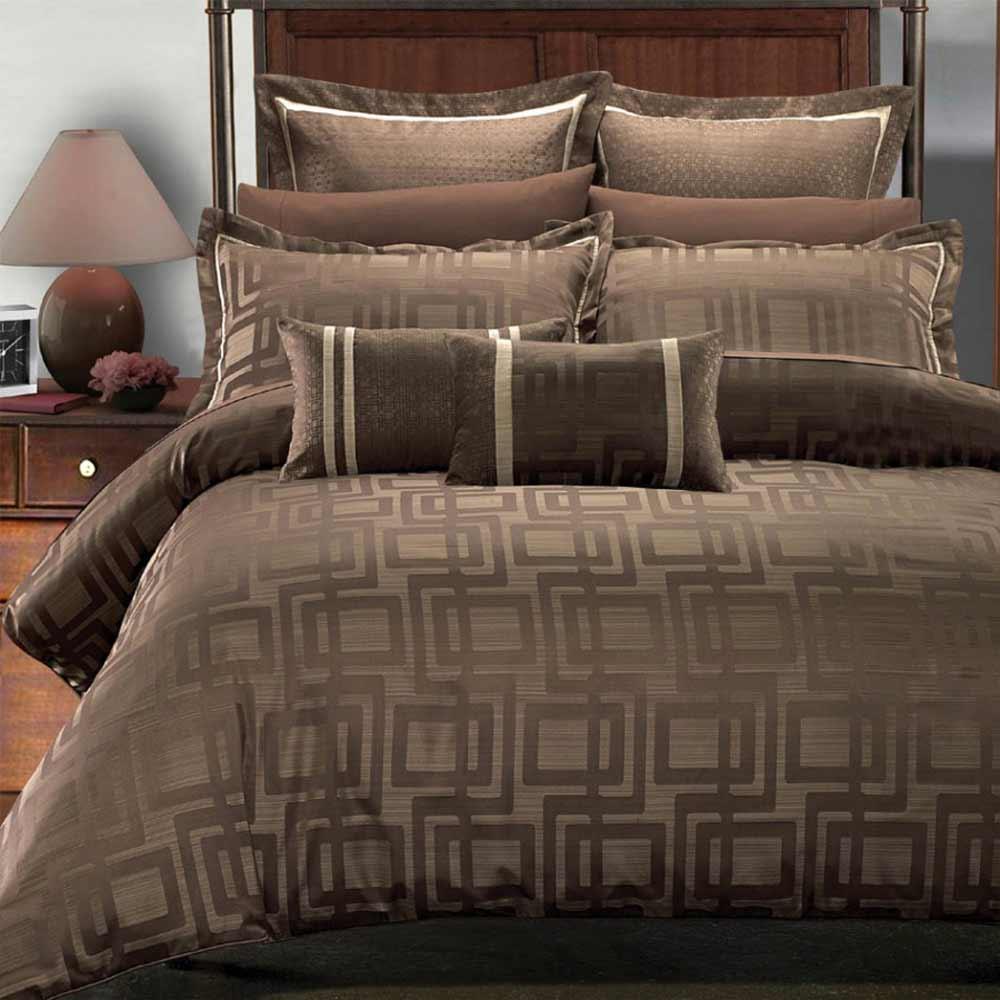 bedskirts queen in dark brown