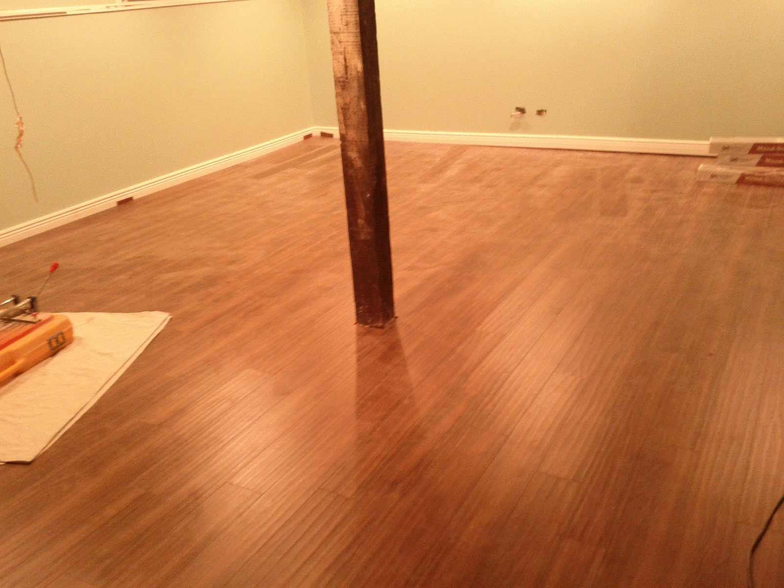 best basement flooring wood insulation