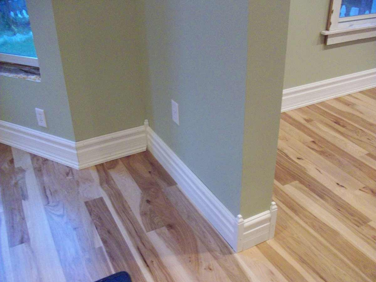 corner baseboard molding styles
