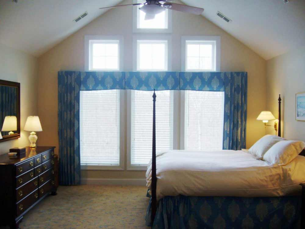 custom master bedroom curtains and drapes