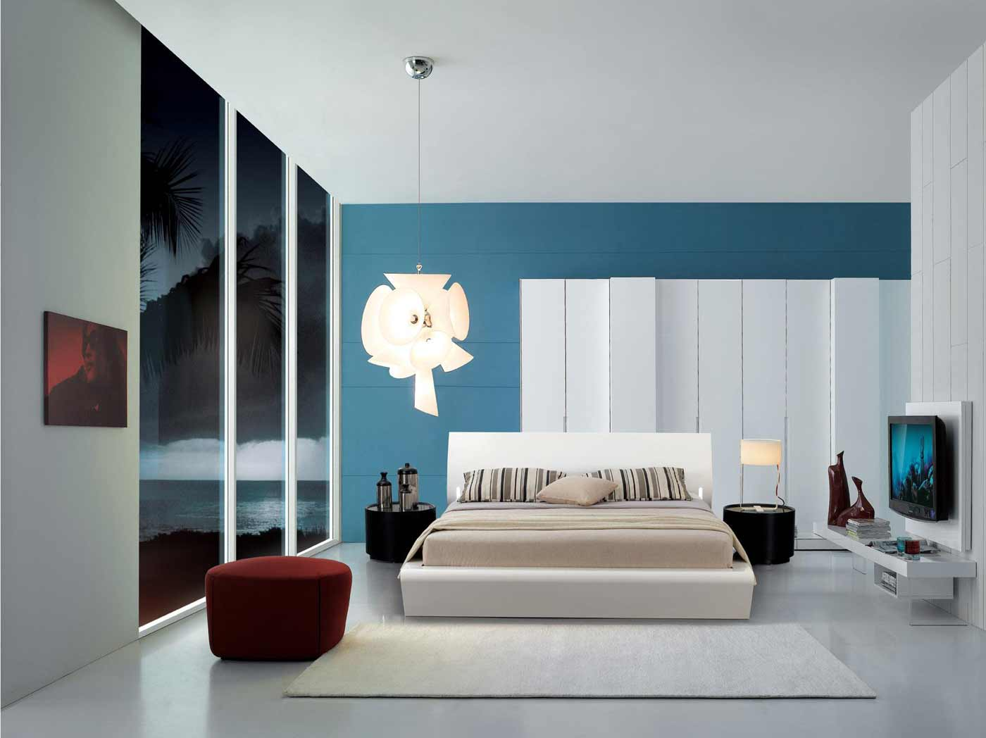 orca modern design beds with lights