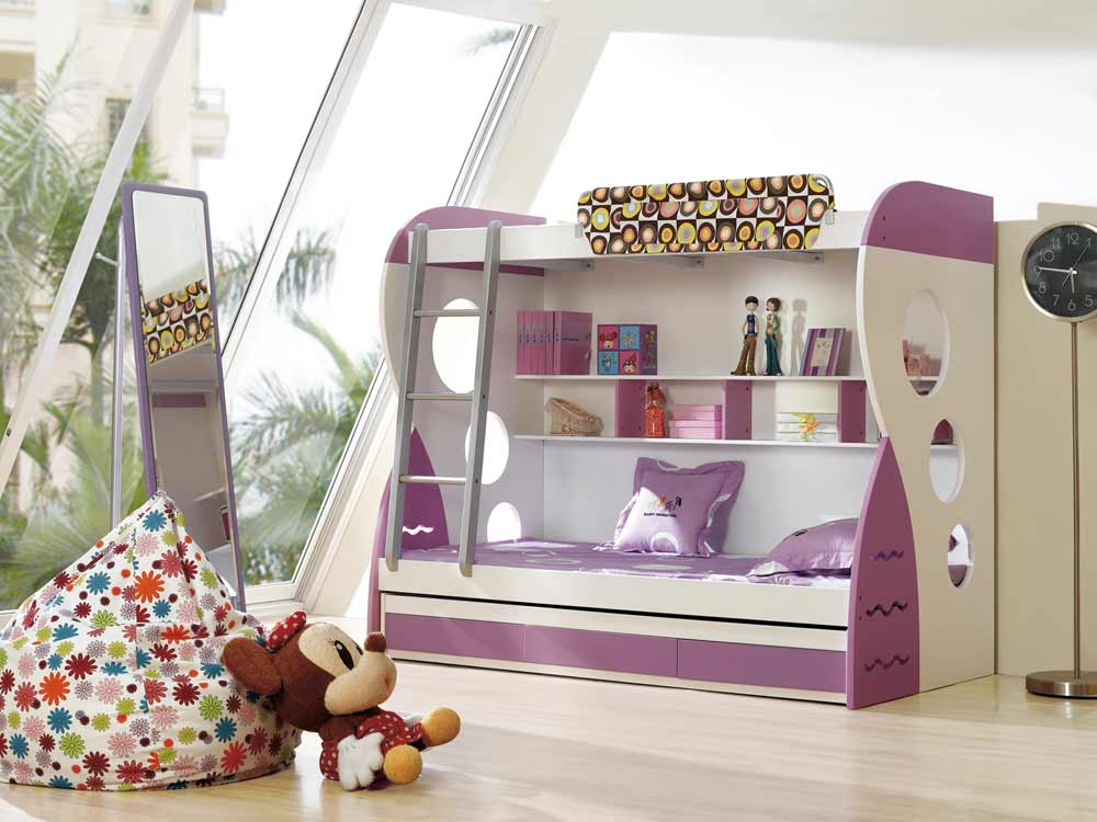 space saving bunk beds for teenagers ideas