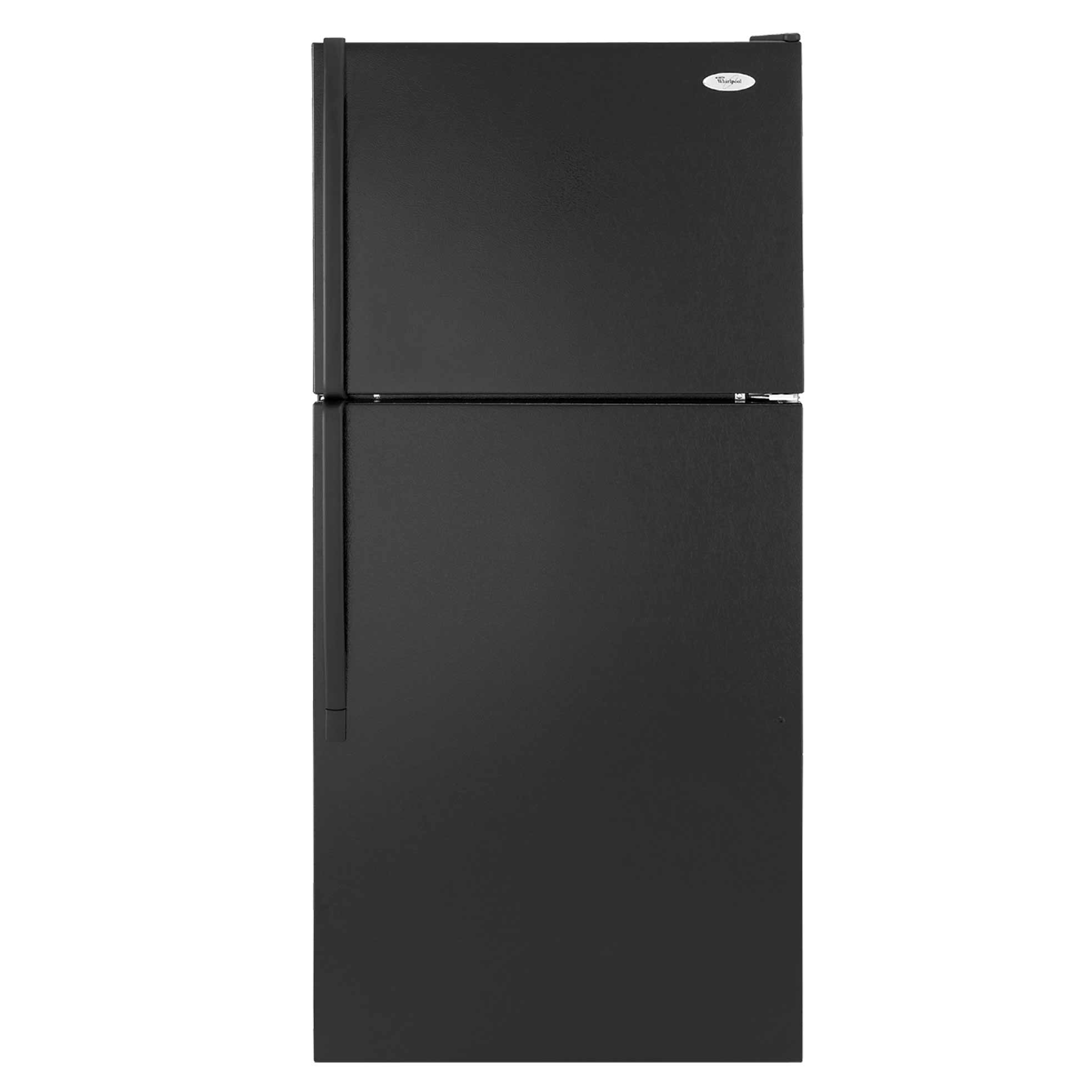whirlpool black top mount refrigerator for home