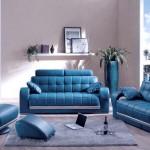 Bolazano modern navy blue sofa collections