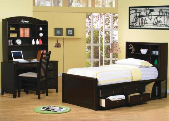 Coaster Hillary Youth Twin Captain Bed