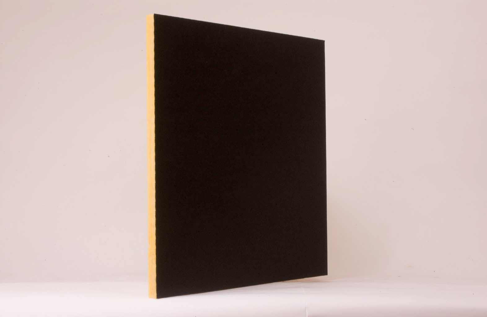 Fiberglass Dark Ceiling Panels from Softex