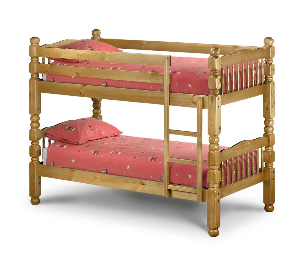 Julian Bowen Cheap Bunk Beds in Chunky Pine