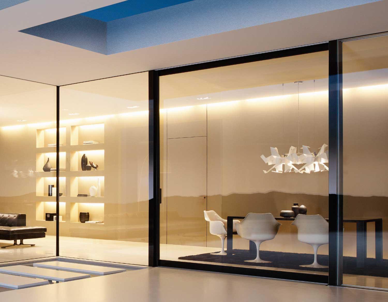 Platin urban design glass wall system