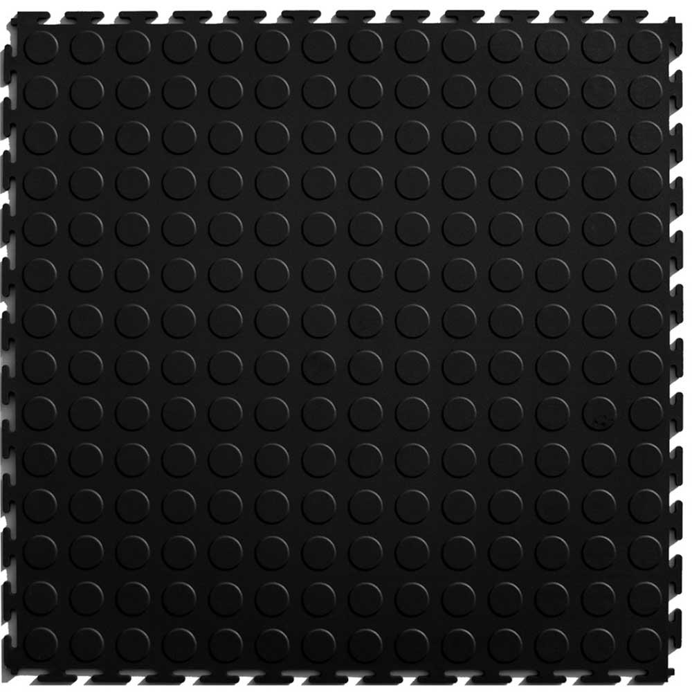 Perfection Black Floor Tile