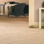 Synthetic loop pile carpet padding