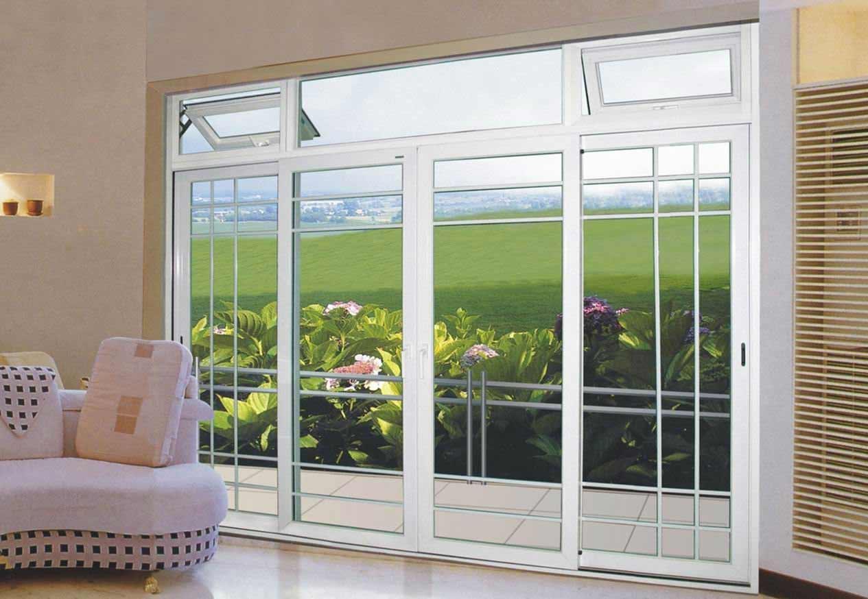 aluminum alloy sliding patio door design