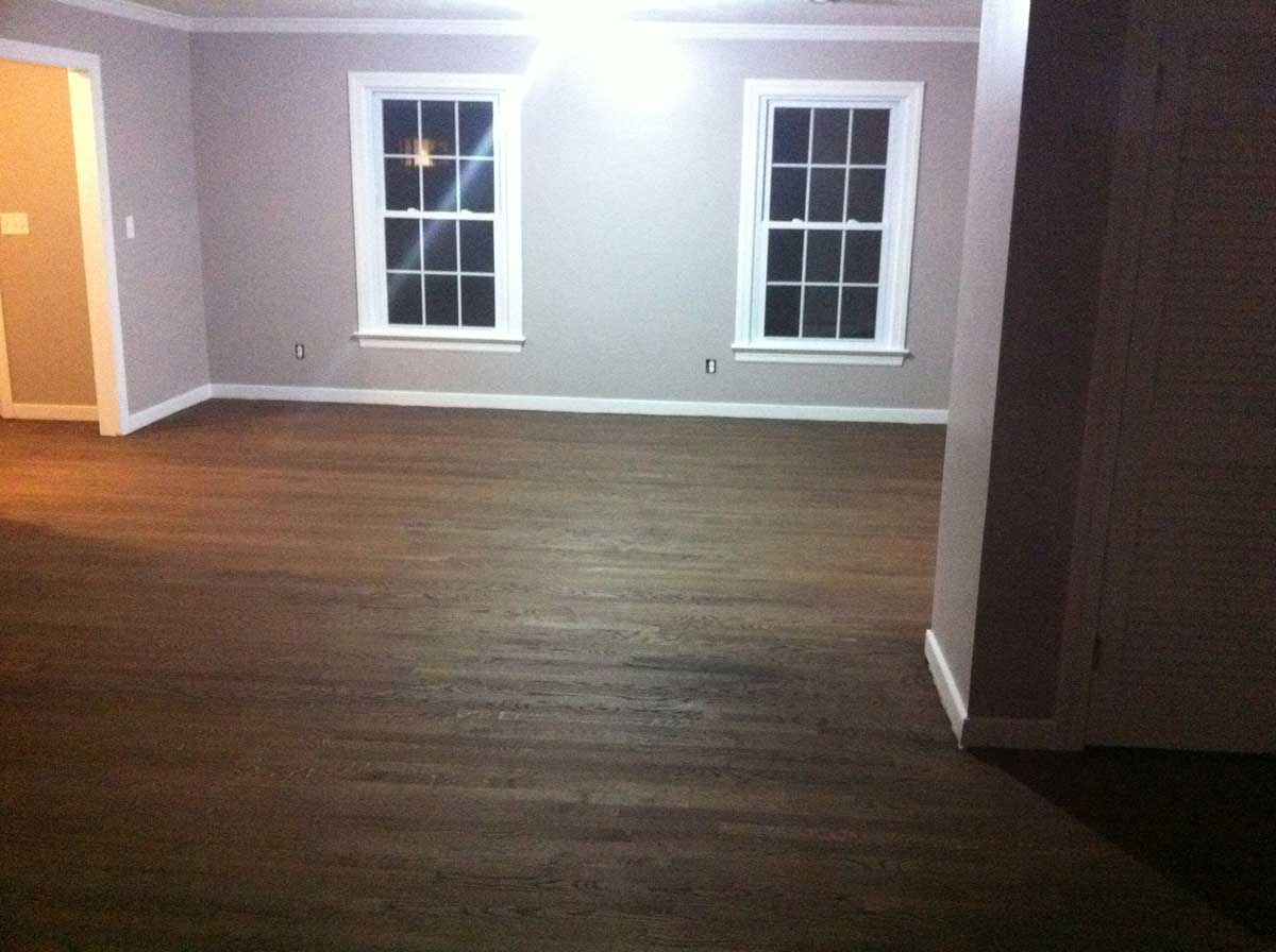 black wood floors for home