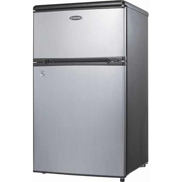 emerson cr500 two doors compact refrigerator