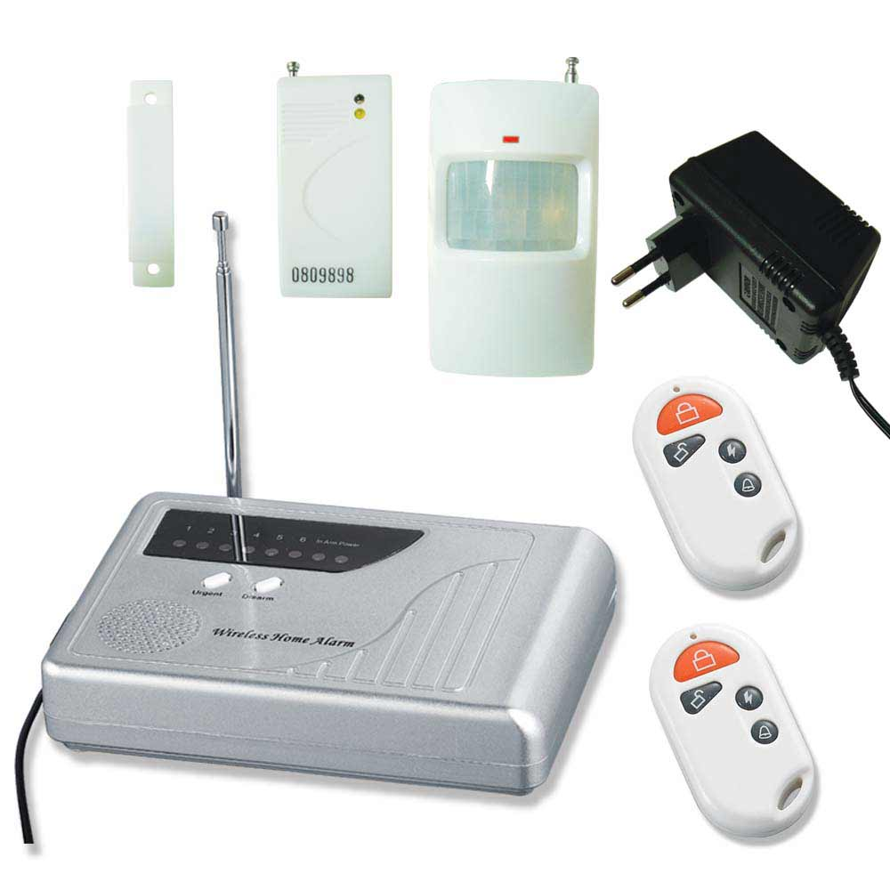 intelligent burglar alarm systems for home
