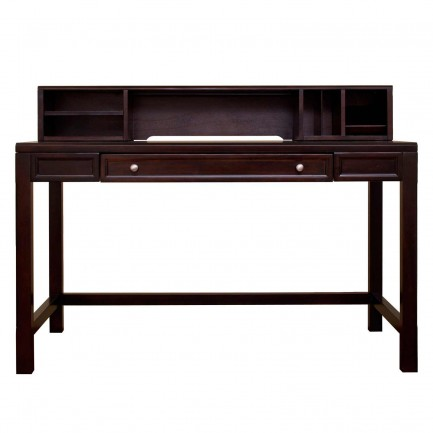 kathy ireland home office writing desk with hutch
