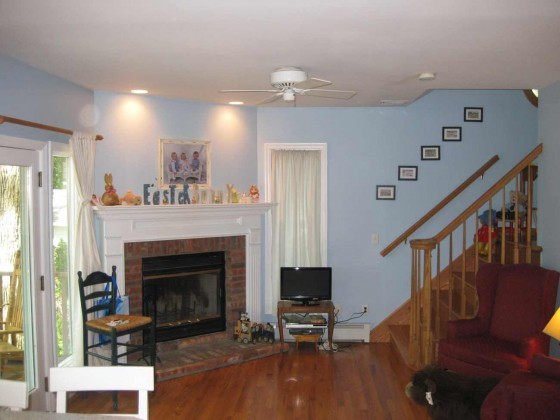 wooden flooring picture for basement