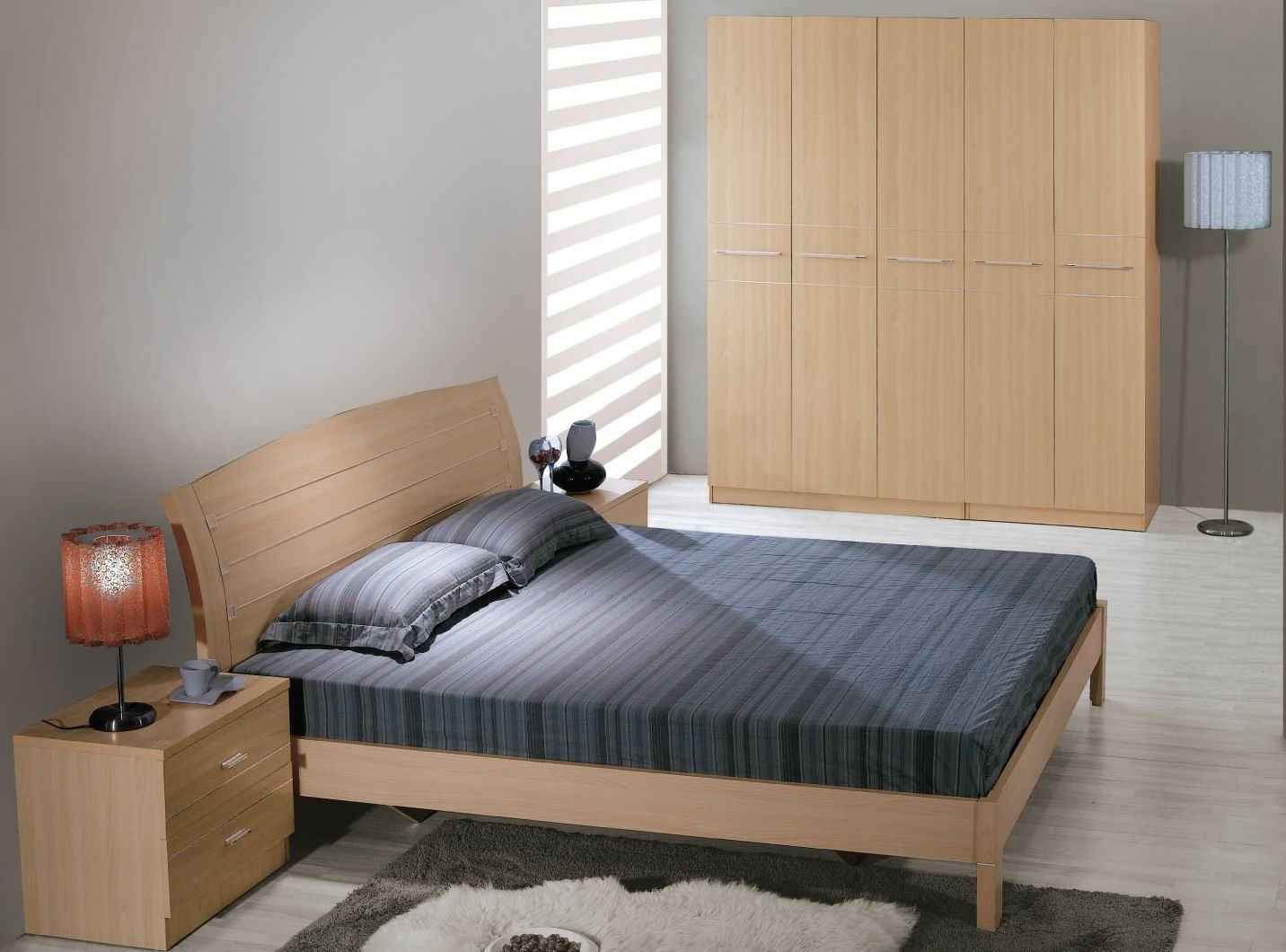 Affordable MDF Apartment Bedroom Furnitures