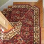 Big step Peykar carpet stair runner