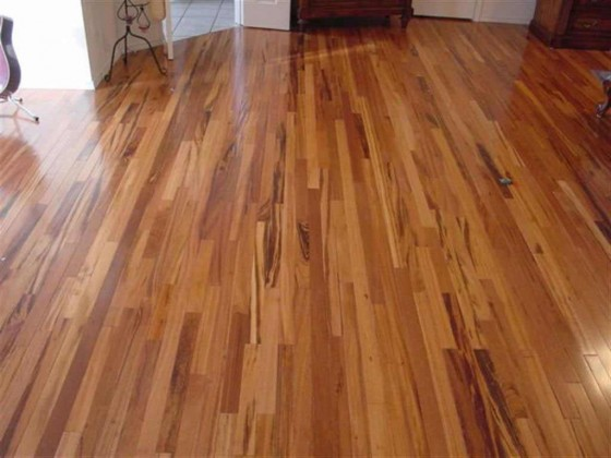 Brazilian Koa Hardwood flooring construction