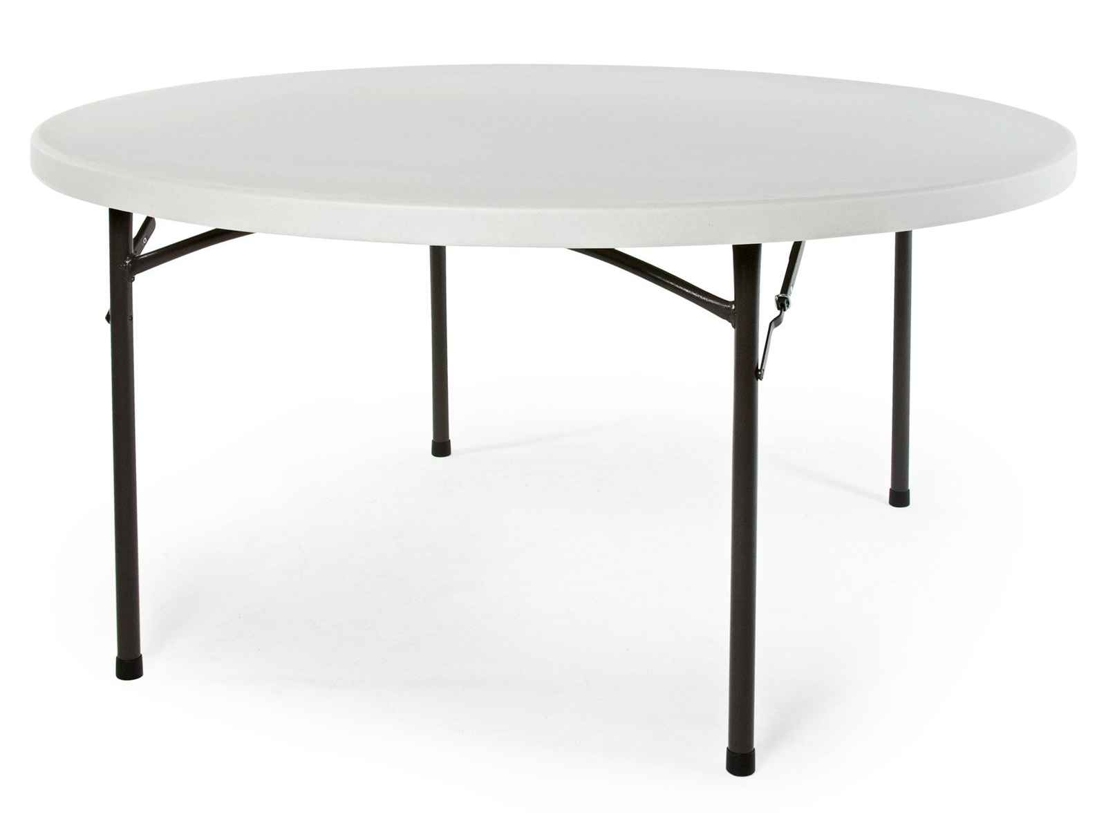 Correll blow molded round folding tables