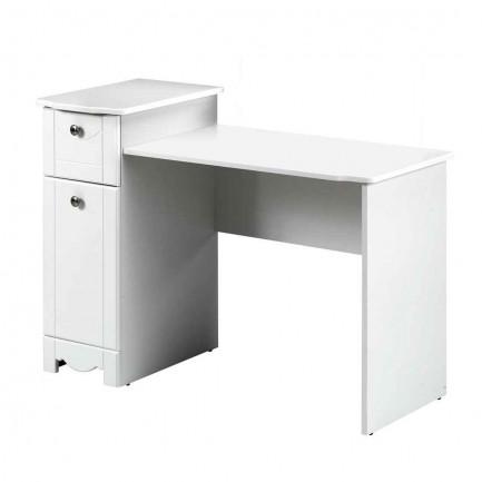 Dixie Nexera Cheap White Desk for Bedroom Student