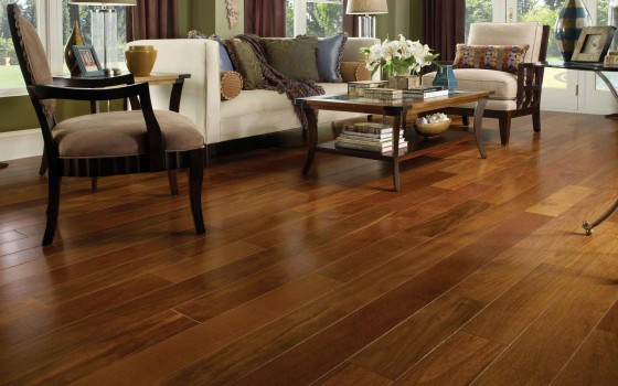 Home Chesnut Flooring with Brazilian Koa
