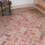Reclaimed Brick Tile Flooring