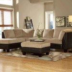 Royce Two Tone Brown Sectional Sofa
