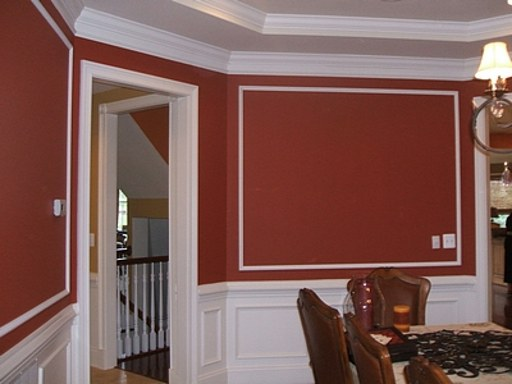 Stylish home crown molding ideas