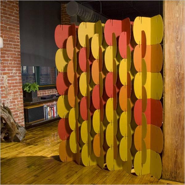 eco friendly cardboard room divider