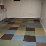 rubber bracked carpet tiles for basement