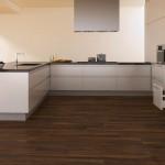 Affordable Laminate Walnut Tile for Kitchen Flooring