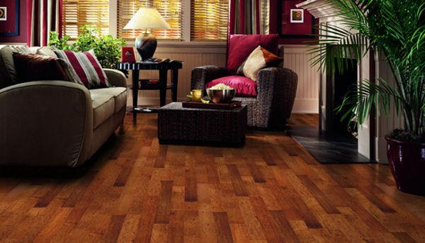 Affordable solid wood floor tile