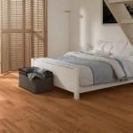 Bedroom Rustic Cheap Flooring Options in White Oak