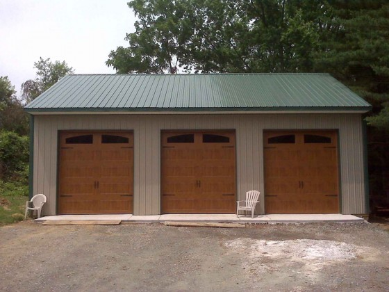 Carriage Woodgrain Stylish Garage Door