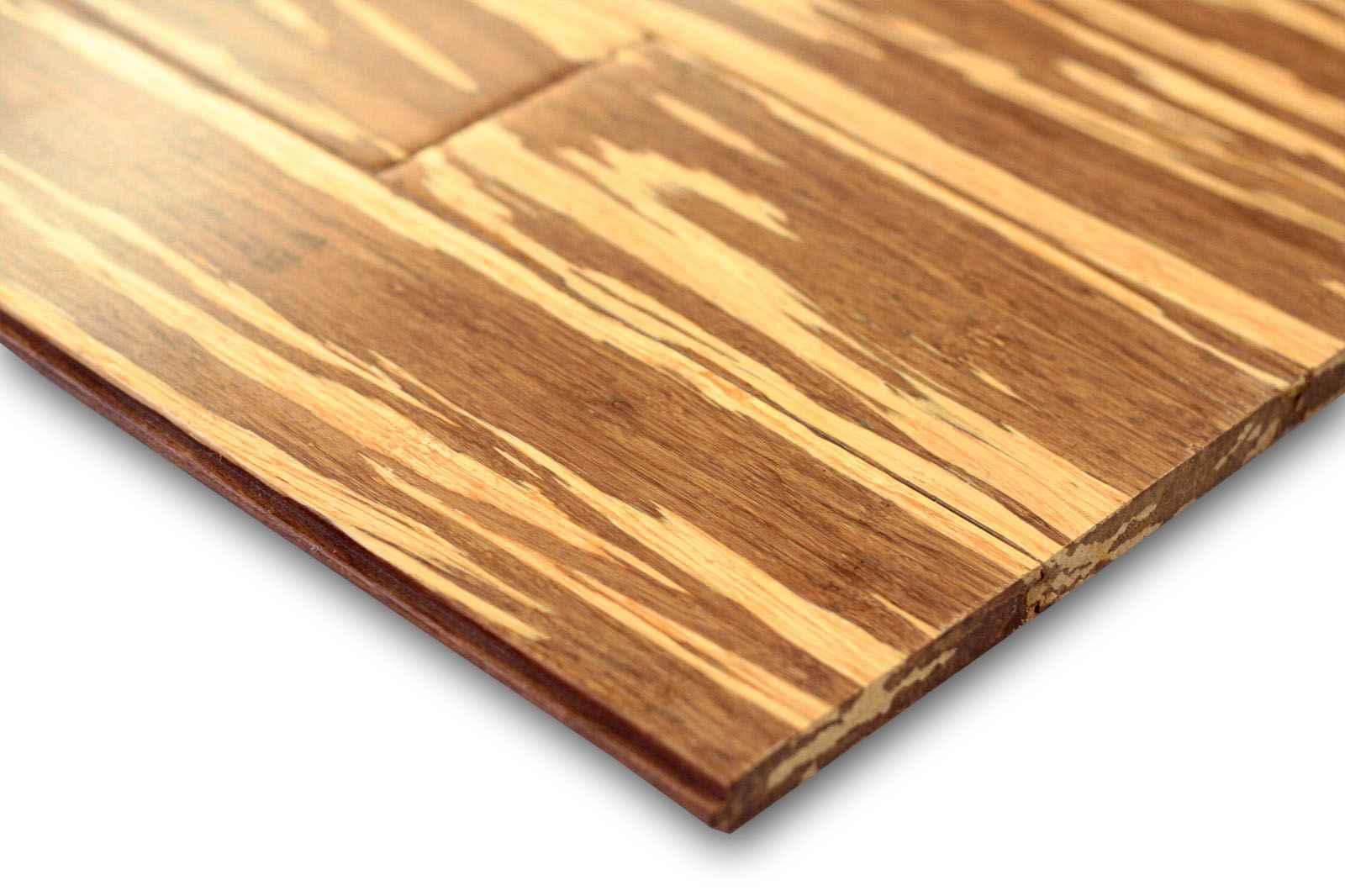 Cheap Bamboo Flooring in Zebra Pattern