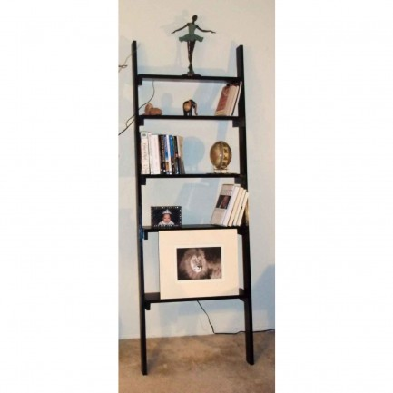 Custom-made Decorative Wall Leaning Bookcase