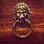 Lion ring pulls drawer hardware
