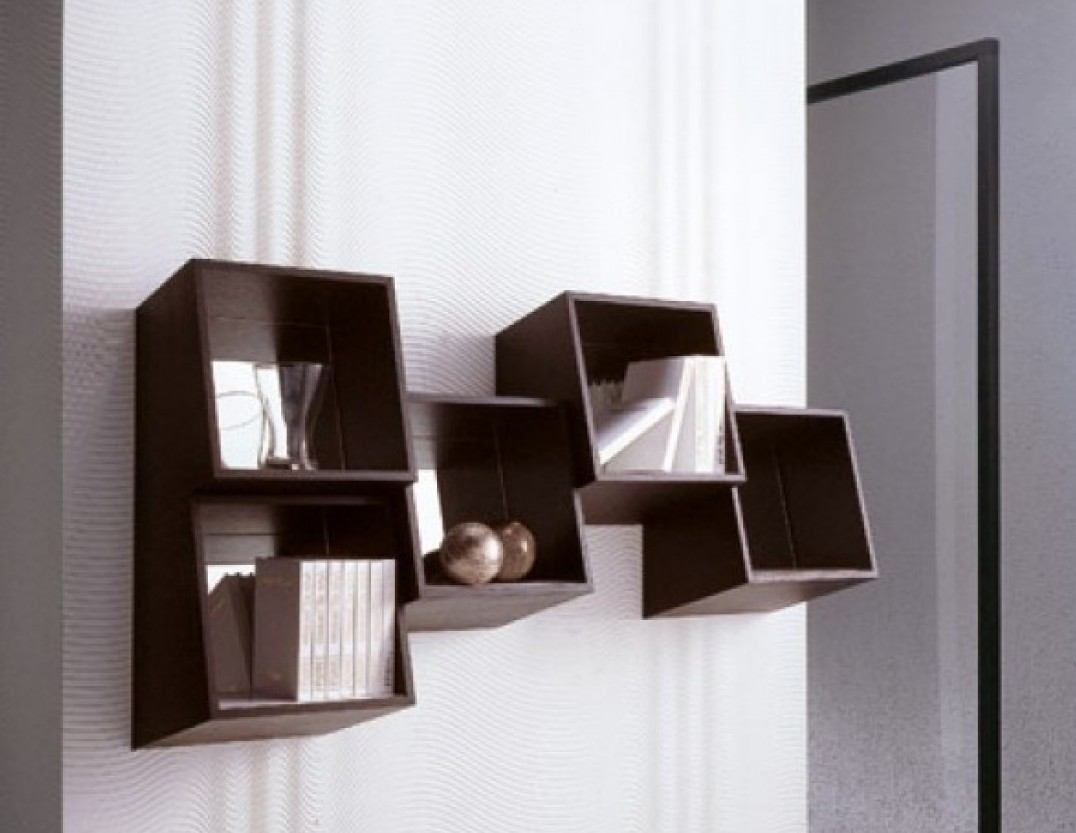 Modern Designer Wall Bookshelves for Home