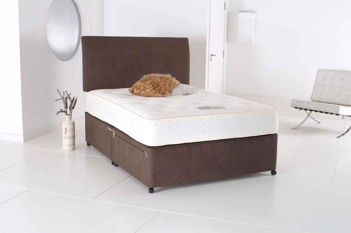 Visco memory foam easy care king size mattress