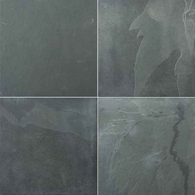 affordable slate tile floor for bathroom