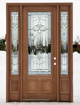 glazed pairs cheap entry doors