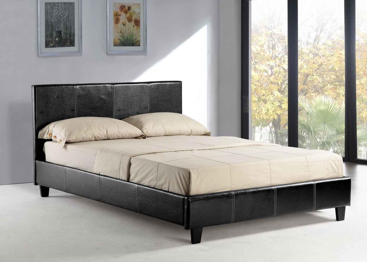 Home Queen Black Platform Beds
