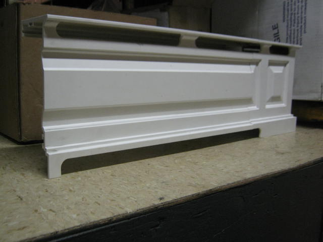 Home baseboard home heating system